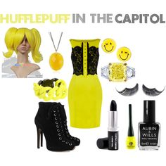 A fashion look from March 2012 featuring ruffle dress, engraved jewellery and canary diamond ring. Browse and shop related looks. Harry Potter Dress Up, Harry Potter Outfits, Harry Potter Memes, Hogwarts Houses, Engraved Jewelry, Fashion Looks, Inspired Outfits, Ravenclaw, Geeks