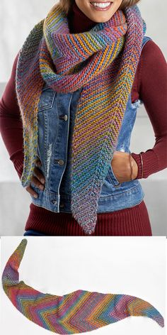 475 Best Multi-Colored Yarn Knitting Patterns images in ...