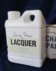 Annie Sloan Chalk Paint Ideas | annie sloan lacquer is a clear matt water based varnish for painted ...