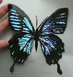 Eiloren: Organza Butterfly - Using a Soldering iron on Textiles Video Tutorial