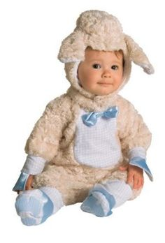 Cute As Can Be Lamb Baby Costume  - Click image twice for more info - See a larger selection kids animal costume at http://costumeriver.com/product-category/animal-costumes/ -  kids, holiday costume , event costume , halloween costume, cosplay costume, classic costume, animal costume,  clothing, gift ideas