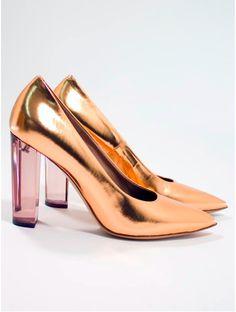 3baf1a9a0e Dries van Noten rose metallic shoes (available Dickinson Of Belfast )