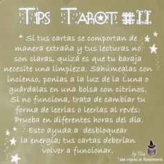 Tarot Tips 11 | Tilia's Blog