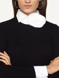Ralph Lauren cashmere.