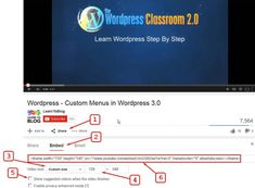 Recently I learned how to add a video from YouTube to a Wordpress website on whatever page or post you want it displayed on.   Are there any copyright concerns with doing this? My understanding is that it is perfectly legal and acceptable (If I'm not correct, somebody please let me know).  I'm not sure whether anyone else has already published training on how to do this, so if they have, please pardon the redundant training. Learn Wordpress, Classroom, Training, Let It Be, Ads, Website, Videos, Youtube, Blog