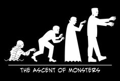 the ascent of monsters. creature from the black lagoon the wolfman Dracula and Frankenstein Halloween Ii, Halloween Photos, Vintage Halloween, Happy Halloween, Beetlejuice, Scary Movies, Horror Movies, Funny Horror, Monsters