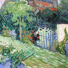 Daubigny's Garden (detail) by Vincent van Gogh | Lone Quixote.