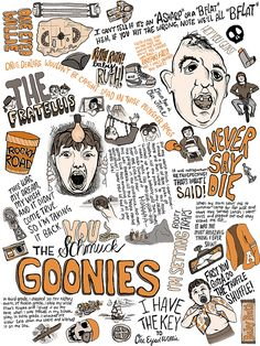 The Goonies Poster on Behance