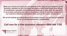 Are you looking to sell your Business? Call us today on 08000461792 to make an appointment to discuss with business valuation experts to know your company worth Sell Your Business, Business Sales, Business Valuation, Strategic Planning, Peace Of Mind, Paradise, Mindfulness, Consciousness, Heaven