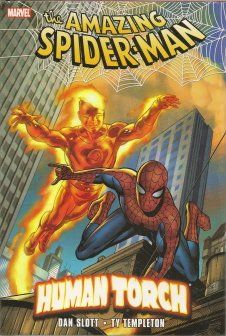The Amazing Spider-Man & Human Torch hardcover graphic novel $19.99 / Marvel Comics @ niftywarehouse.com #NiftyWarehouse #Spiderman #Marvel #ComicBooks #TheAvengers #Avengers #Comics