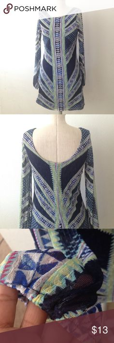 """Bodycon dress Body-con long sleeves dress. Good used condition! Length is approximately 33"""" from shoulder. Offers are welcome. No trades! Fire Los Angeles Dresses"""