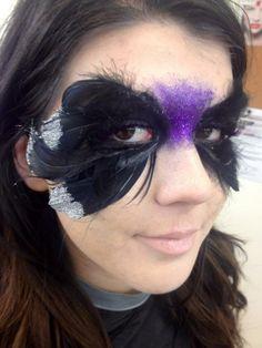 Bellus Academy make-up artistry students practiced Avantgarde in class this week! #bellusacademy #makeup