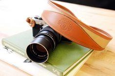 Ghurka Khaki Twill Camera Strap
