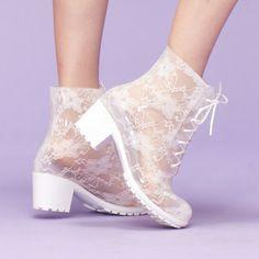 Mode transparent 2014 bottes, danse, bottes, dentelle bottes de pluie-image-Bottes-Id du produit:584439442-french.alibaba.com