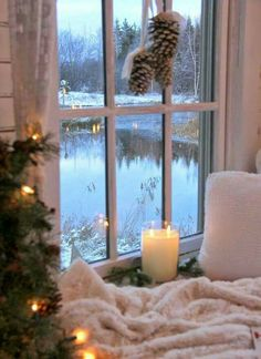 Winter, the gift of togetherness, warmth and coziness.