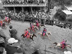 """Carrera de Caballos en Todos Santos Cuchumatanes, Huehuetenango. """"#Horse race at #Todos Santos, #Huehuetenango."""""""