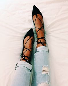 Steve Madden lace up flats - dreaming about these: