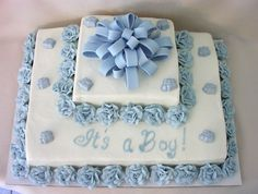 Baby+Shower+Sheet+Cakes+for+Boys | Baby Boy Shower Cake