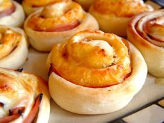 Hot Ham and Cheese Pinwheels. This recipe is SO delicious! It makes for yummy leftovers too!!!