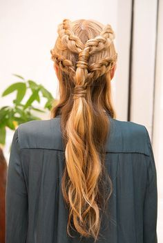 #DIY this #GameofThrones inspired #braided look.