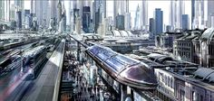 Transport System in a City of Tomorrow.
