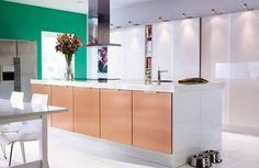 Copper cupboard doors and sliding wall cupboard doors