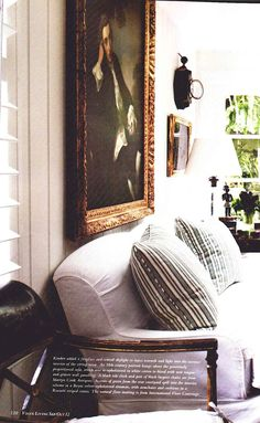Janelle McCulloch's Library of Design.....Art/contrast/comfort