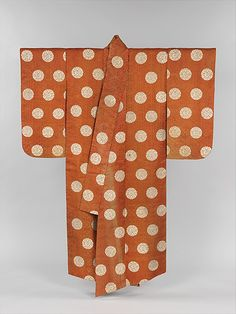 Noh Robe  Period: Edo period (1615–1868) Date: 18th century Culture: Japan Medium: Brocaded silk
