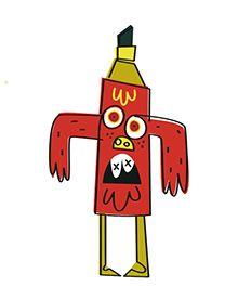 John Burgerman by Steve Simpson, via Behance Graffiti Doodles, Mini Monster, Funny Character, Cute Monsters, Gcse Art, Doodle Art, Art Inspo, Illustrators, Pop Art