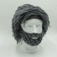 Wish   New Fashion Wig Beard Hats Hobo Mad Scientist Rasta Caveman Handmade Knit Warm Winter Fashion Joggers Crop Caps Men Women Halloween Gift Funny Party Mask Beanies Bu78