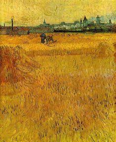 Vincent Van Gogh, Field of Wheat - Arles, 1888