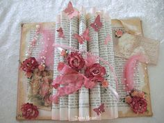 Old book I decorated