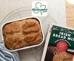 Bake your own McCambridge Irish Soda Bread in USA -  just add milk, tray included! $4.29 Soda Bread, Banana Bread, Irish, Tray, Milk, Baking, Desserts, Food, Tailgate Desserts