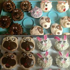 The Secret Life of Pets cupcakes by Jill, Karen & Sonya!