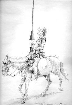 Don Quixote illustration