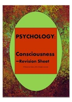 This is a great resource for students to revise their understanding of the key concepts of Consciousness. It includes both questions and answers. This can be used as a homework activity or class exercise before the exam.Check out more quality, ready-to-use resources:More from Resources GaloreFollow me on:PinterestThank you for visiting my store!*****************************************************************************CUSTOMER TIPS:Dont Forget to collect your TPT credit to use on future…