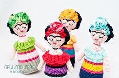 Gallimelmas e Imaginancias: ¡Novedades! Sonajeros de Frida en colaboración con Annie's Fingers