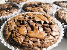 Brownie Muffins -these are what I am making right NOW!