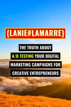 A/B Testing can be done with a lot of things: email subject lines, YouTube thumbnails, even your website buttons. Head over to learn more about how and when this optimization strategy is best used. // Lanie Lamarre - OMGrowth