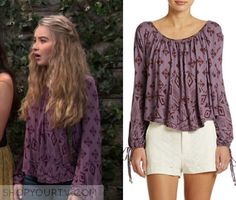 Girl Meets World: Season 2 Episode 16 Maya's Purple Blouse