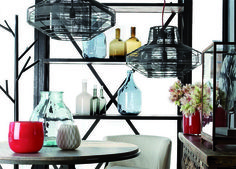 Storage solutions can be beautiful as seen in this #SouthAfrican #living space.