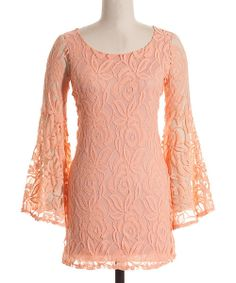 Delicate changes in the air warrant weather-worthy style modifications, like this easy-breezy lace dress. The soft spandex blend fabric flows gracefully along the body, crafting a fluid fit that pairs perfectly with balmy days and extended afternoons.