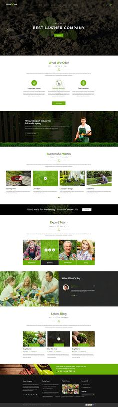 GreenLife is perfect premium #PSD #template for gardening, #landscaping or lawn services business website with 4 homepage variation, 24 layered PSD files and 20 inner pages download now➝ https://themeforest.net/item/greenlife-gardening-and-landscaping-psd-template/16864157?ref=Datasata