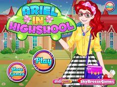 Piękna Ariel uczęszcza do wyżej szkoły w USA, która jest odpowiednikiem liceum. Wiesz doskonale jak dziewczyny dbają w tym wieku o swój wygląd! http://www.ubieranki.eu/ubieranki/9861/ariel-w-liceum.html