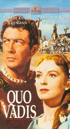 Quo Vadis  / Movie [VHS] VHS ~ Robert Taylor, http://www.amazon.com/dp/6301976622/ref=cm_sw_r_pi_dp_HSYqqb15Y4406