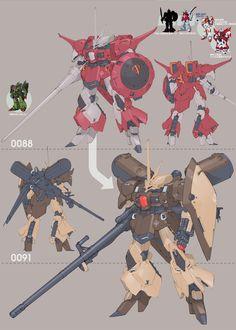 A.O.Z Re-Boot03 AMX-101S[GULLUSS-S]