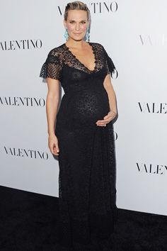 Gorgeous maternity dress.