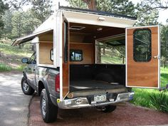 The Open Air Camper build - Callen on Dodge Short Bed - Expedition Portal