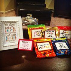 Valentine's Gift for Ava's teacher!