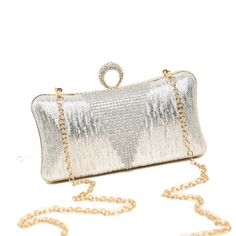 High Quality Designer Fashion Shining Box Clutch Bag on Made-in-China.com